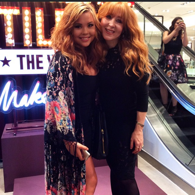 Mama. is that you? Meeting Charlotte Tilbury